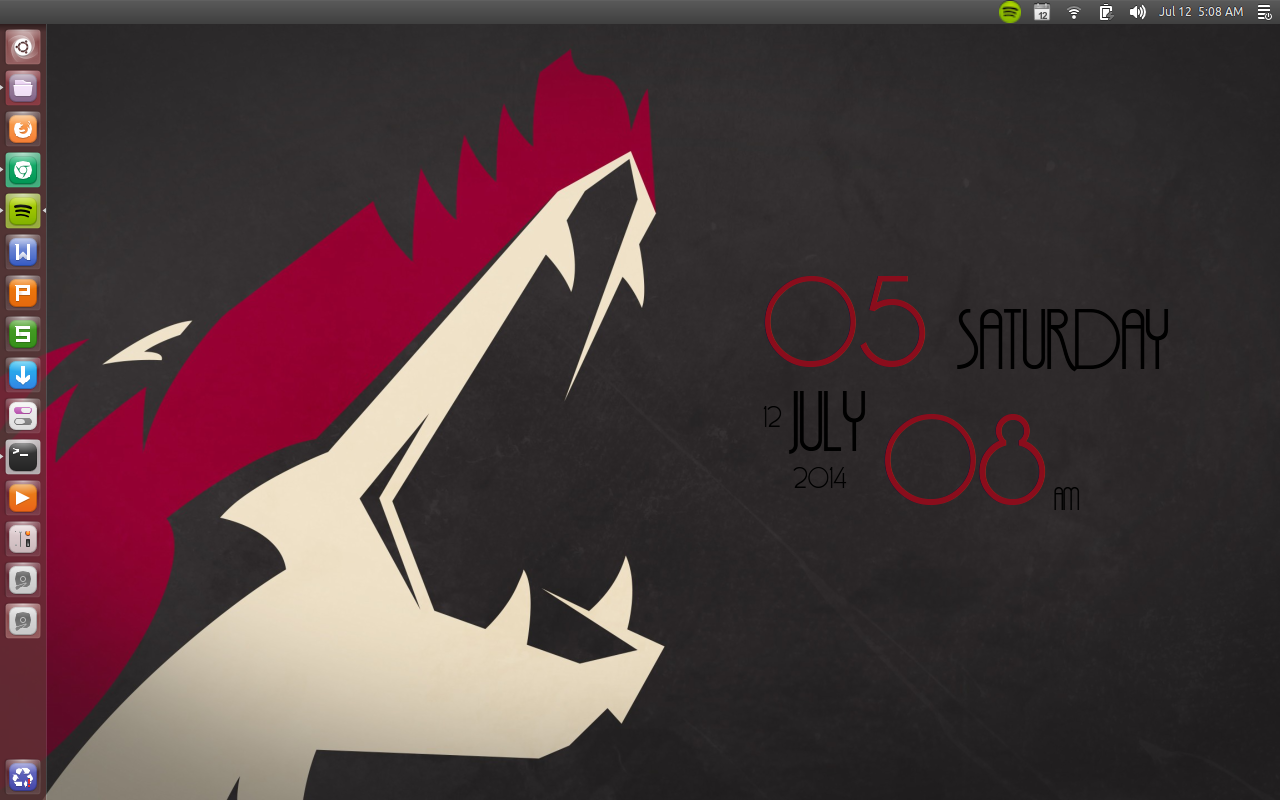 Ubuntu 1404 Wallpaper Screenshot Latest Unity